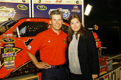 Jamie McMurray Christy Champions Breakfast Jamie McMurray wife Christy