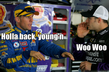 Jamie McMurray and David Gilliland are f-a-b-o-l-u-s