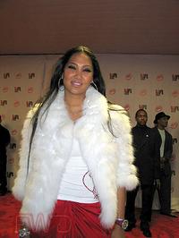 Kimmora Lee Simmons at the 2003 Vibe Awards. Santa Monica, CA. 11/20/03. (Photo: FWD)