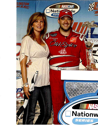 Tony Stewart is dating the former Mrs. Derrick Cope and ex-girlfriend of ...