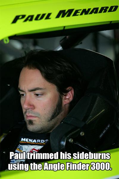 Paul Menard sideburns
